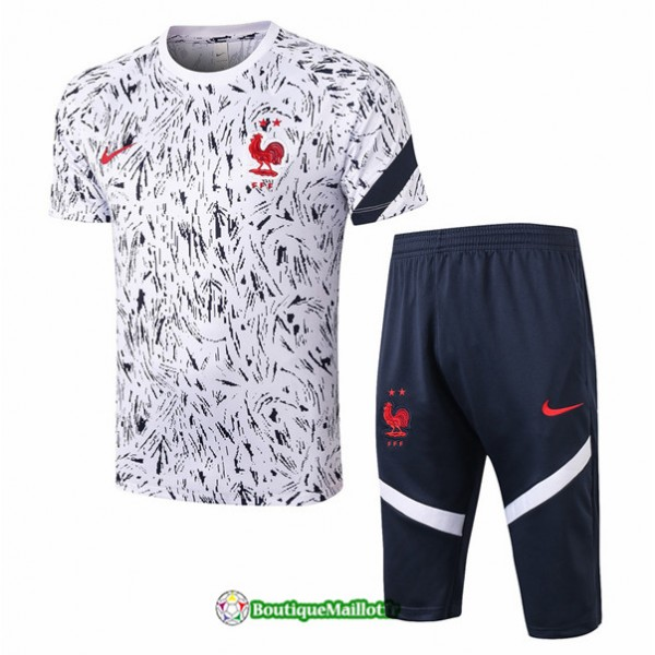 Maillot Kit Entraînement France 2020 Training 3/4...