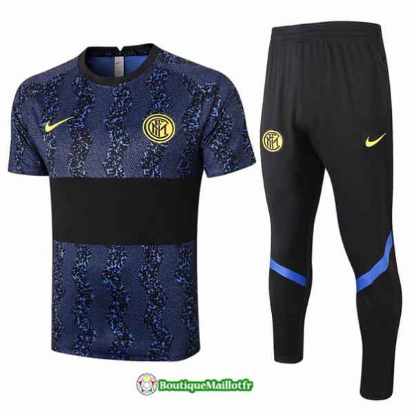 Maillot Kit Entraînement Inter Milan 2020 Trainin...