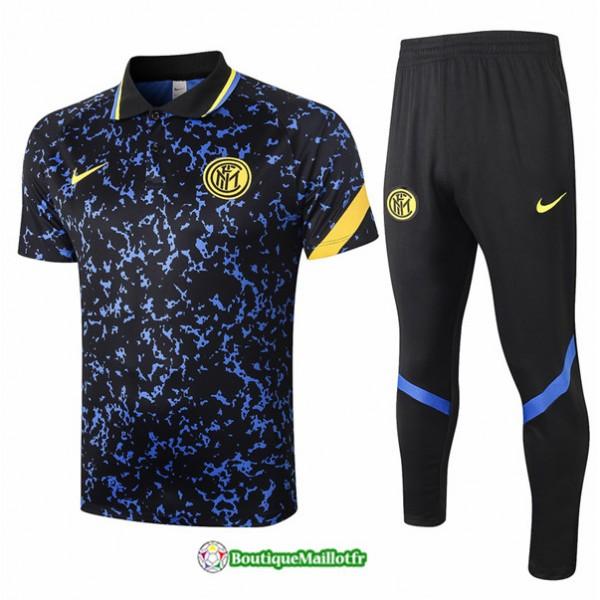 Maillot Kit Entraînement Inter Milan Polo 2020 Tr...