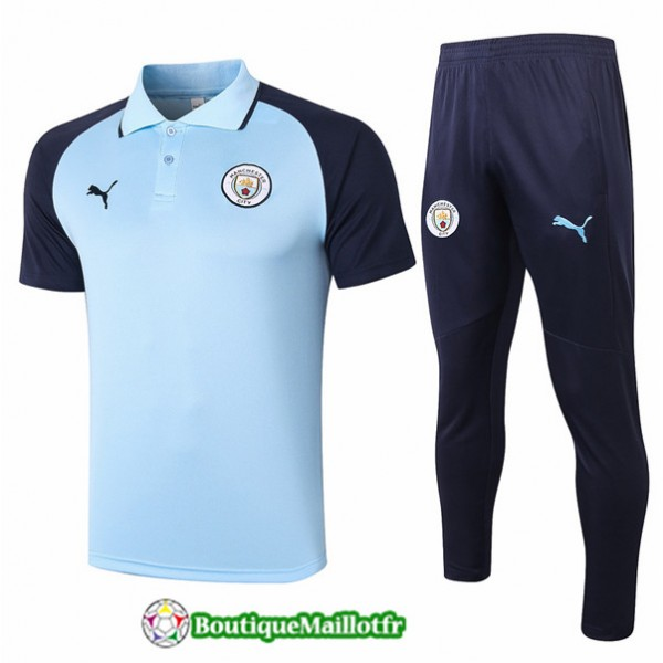 Maillot Kit Entraînement Manchester City Polo 202...