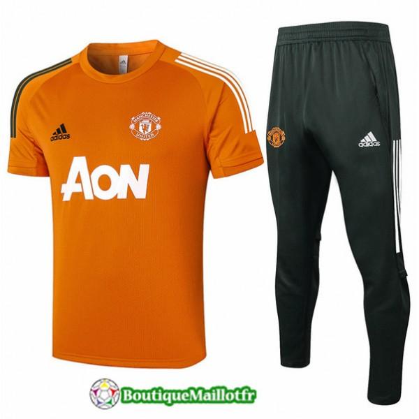 Maillot Kit Entraînement Manchester United 2020 T...