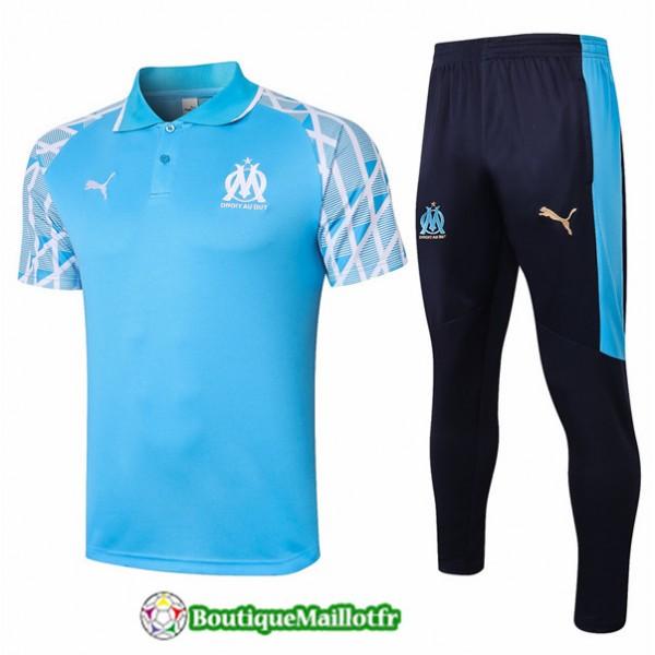 Maillot Kit Entraînement Marseille Polo 2020 Trai...