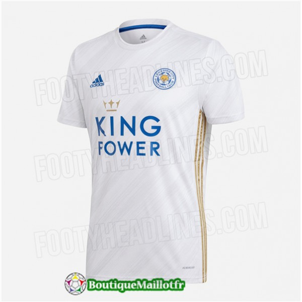Maillot Leicester City 2020 Exterieur
