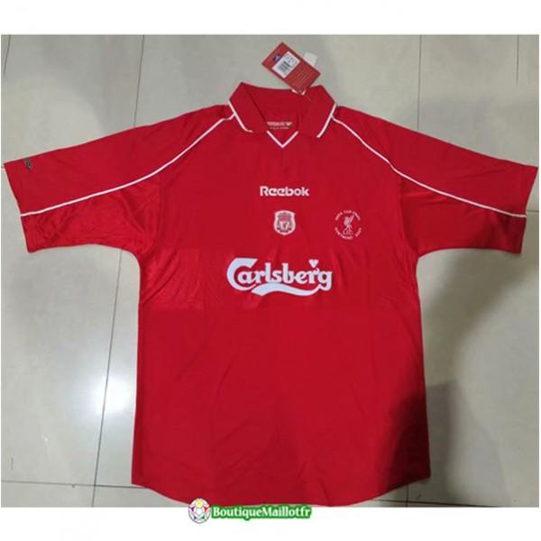 Maillot Liverpool Retro 2000 02 Domicile