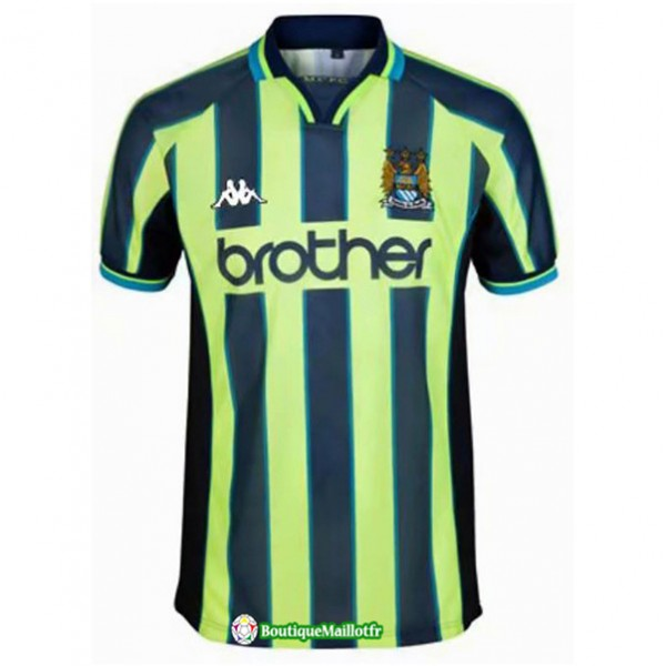 Maillot Manchester City Retro 1998 99