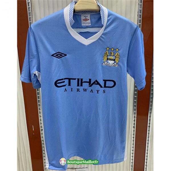 Maillot Manchester City Retro 2011 12 Domicile