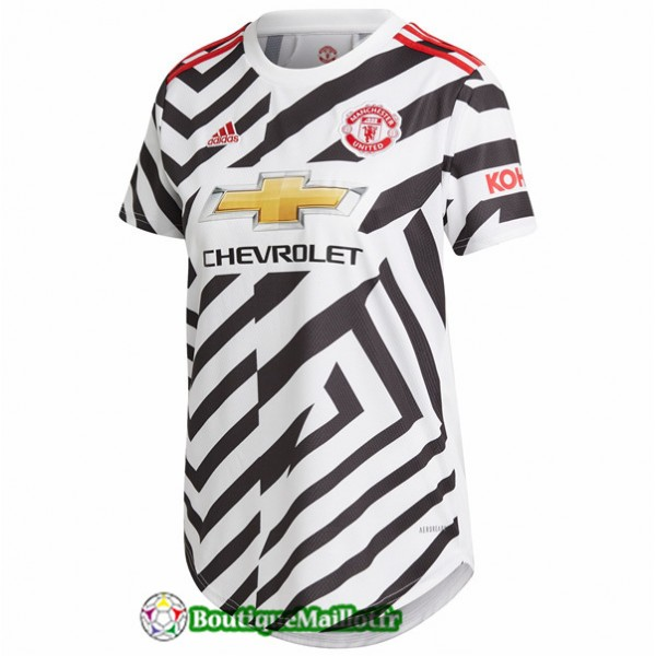 Maillot Manchester United Femme 2020 Third