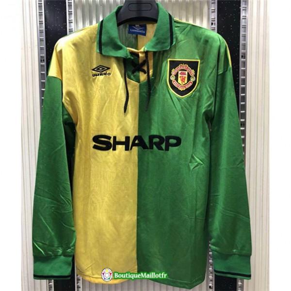 Maillot Manchester United Retro 1992 94 Manche Lon...