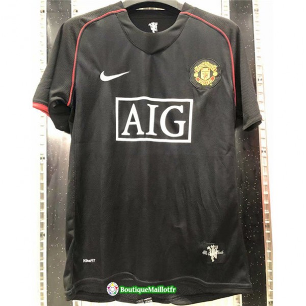 Maillot Manchester United Retro 2007 08 Exterieur