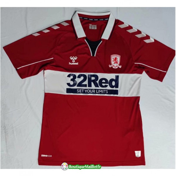 Maillot Middlesbrough 2020 Domicile