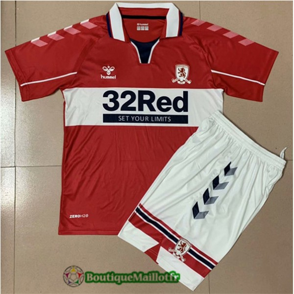 Maillot Middlesbrough Enfant 2020 Domicile