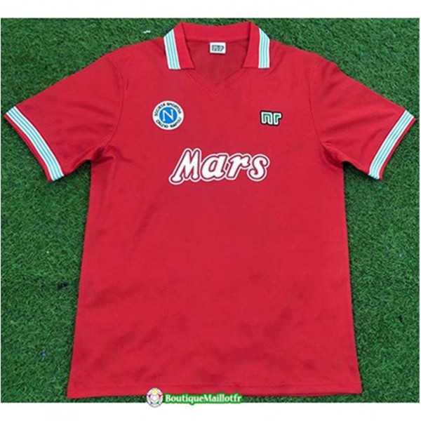 Maillot Naples Retro 1988 89 Third