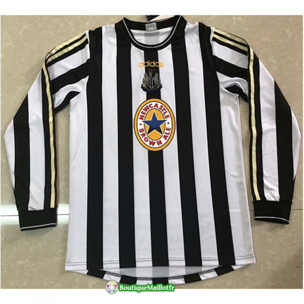 Maillot Newcastle United Retro 1997 99 Domicile Ma...