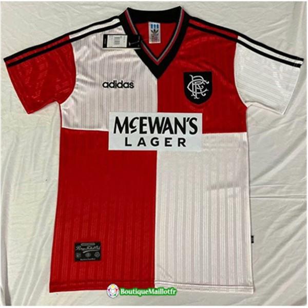 Maillot Rangers Retro 1995 96 Domicile