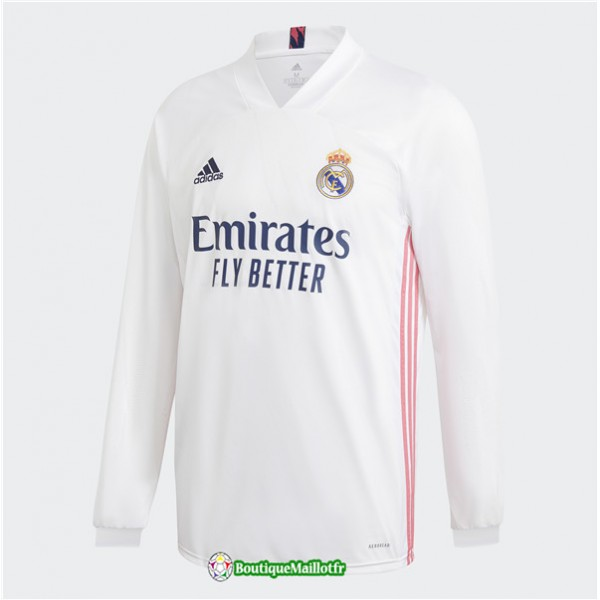 Maillot Real Madrid 2020 Domicile Manche Longue