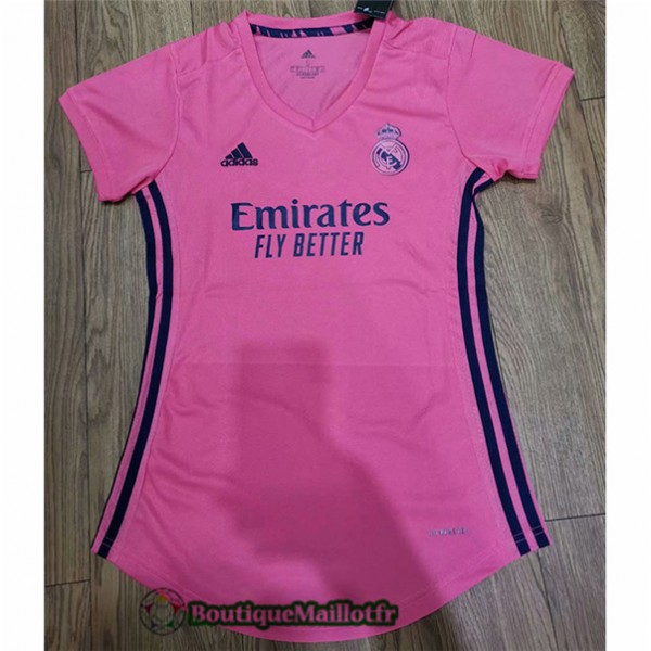 Maillot Real Madrid 2020 Exterieur Femme