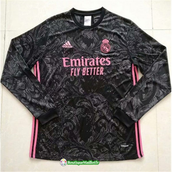 Maillot Real Madrid 2020 Exterieur Manche Longue