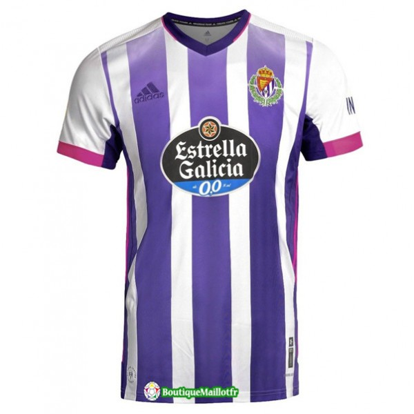 Maillot Real Valladolid 2020 Domicile