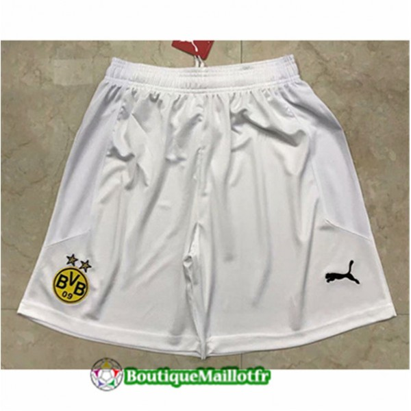Maillot Short Borussia Dortmund 2020 Exterieur