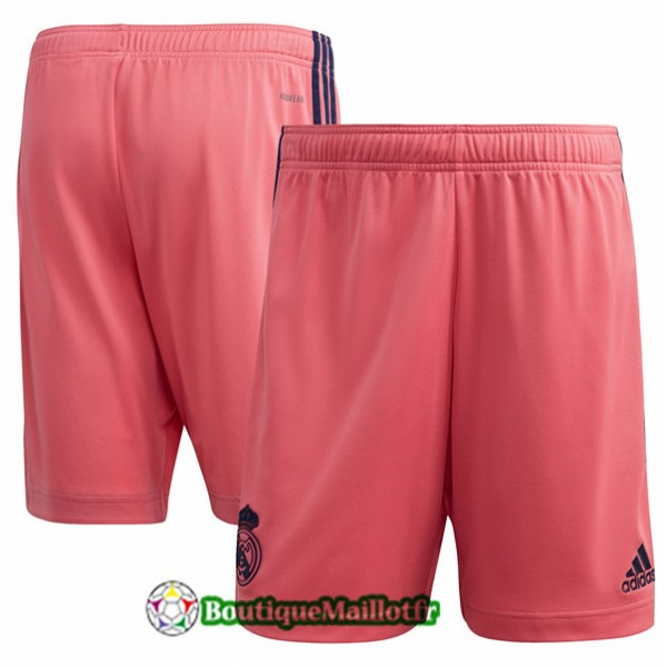 Maillot Short Real Madrid 2020 Exterieur