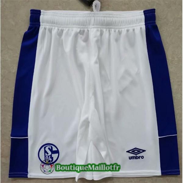 Maillot Short Schalke 04 2020 Exterieur
