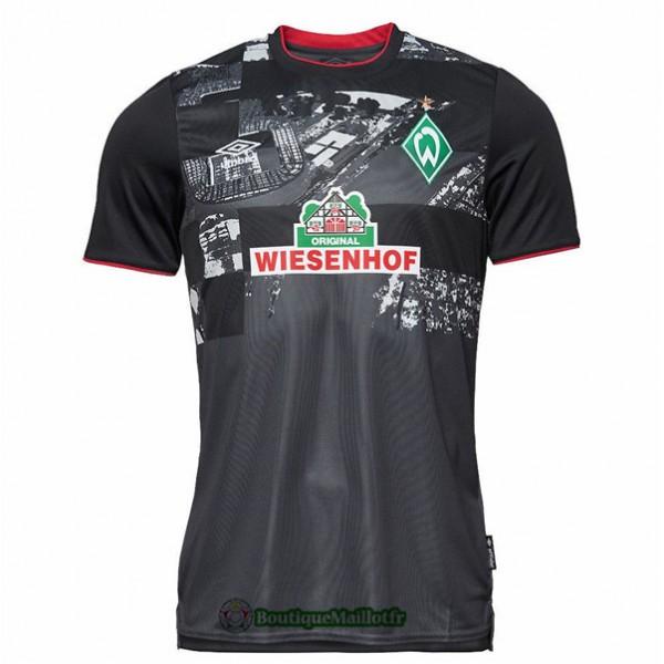 Maillot Werder Brême 2020 Third Noir