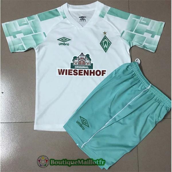 Maillot Werder Brême Enfant 2020 Exterieur