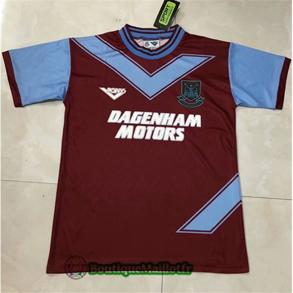 Maillot West Ham United Retro 1993 94 Domicile