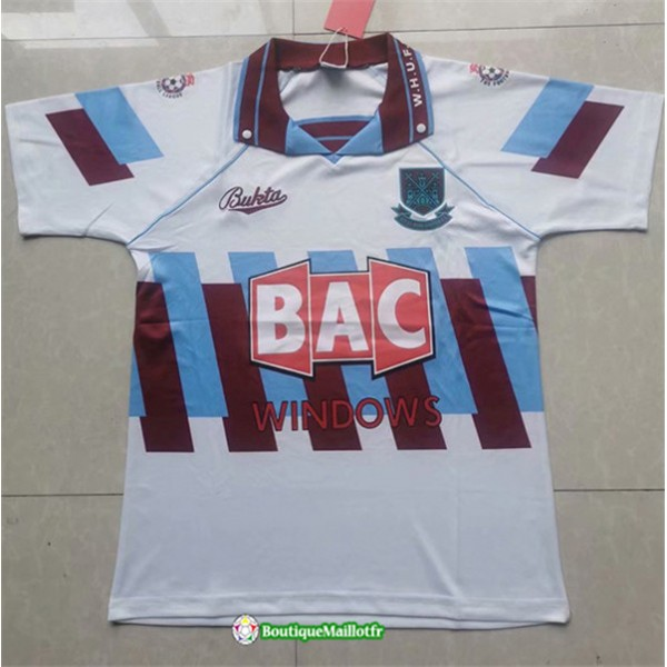 Maillot West Ham United Retro 1996 97 Third