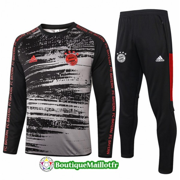 Survetement Bayern Munich 2020 Noir/gris