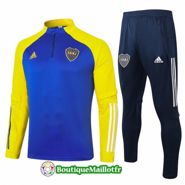 Survetement Boca Juniors 2020 Bleu Marine/jaune