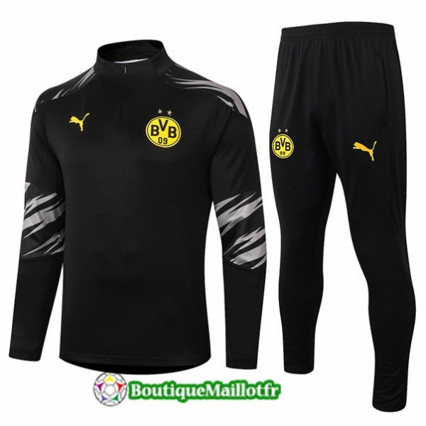Survetement Borussia Dortmund 2020 Noir