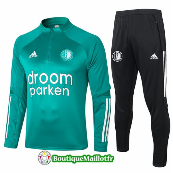 Survetement Feyenoord 2020 Vert