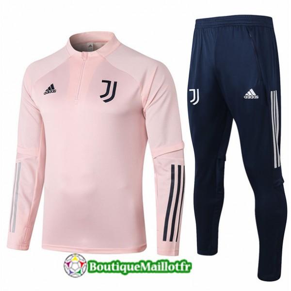 Survetement Juventus Enfant 2020 Rose