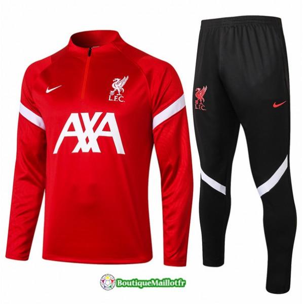 Survetement Liverpool 2020 Rouge