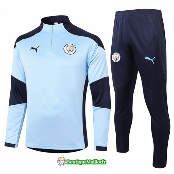 Survetement Manchester City 2020 Bleu Clair