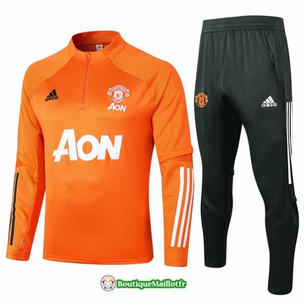 Survetement Manchester United 2020 Orange