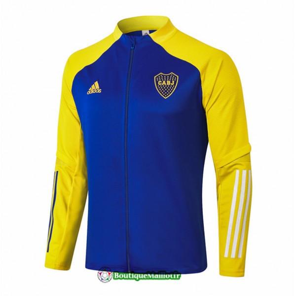 Veste Boca Juniors 2020 Bleu Jaune
