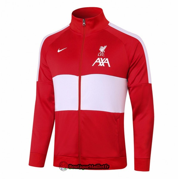 Veste Liverpool 2020 Rouge/blanc