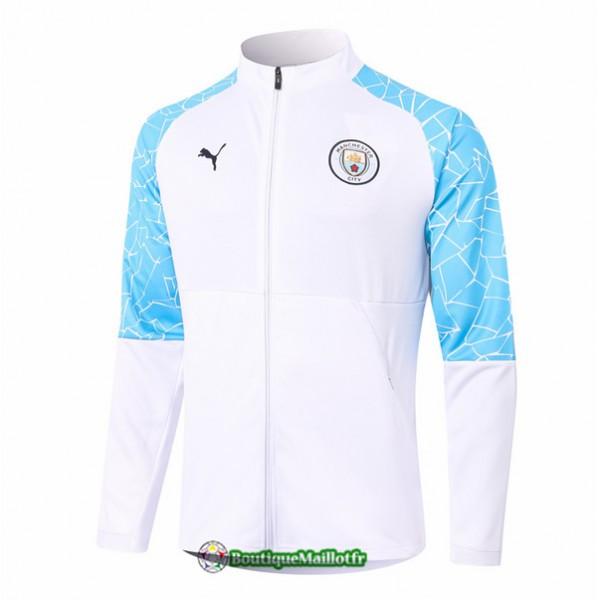 Veste Manchester City 2020 Blanc