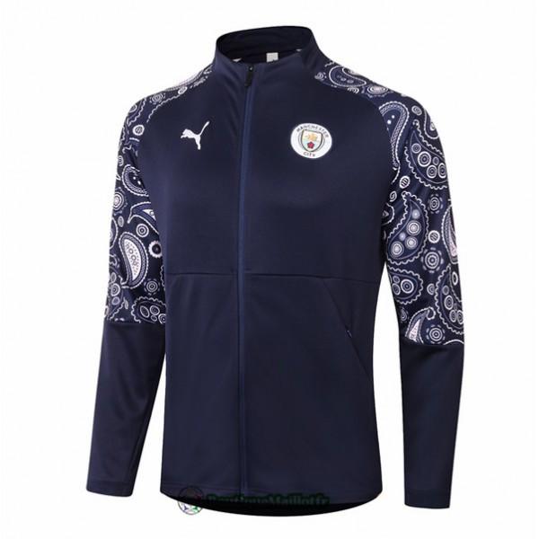 Veste Manchester City 2020 Bleu Marine