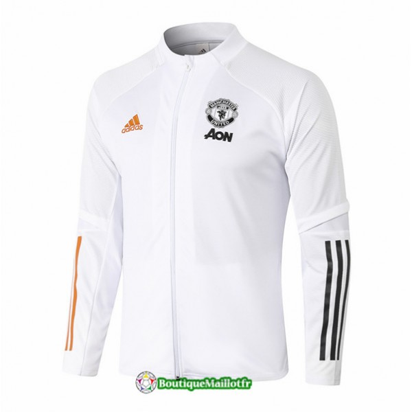 Veste Manchester United 2020 Blanc