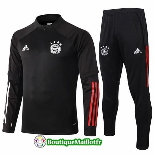 Veste Survetement Bayern Munich Enfant 2020 Noir