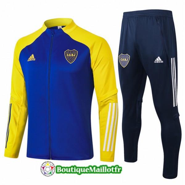 Veste Survetement Boca Juniors 2020 Bleu/jaune