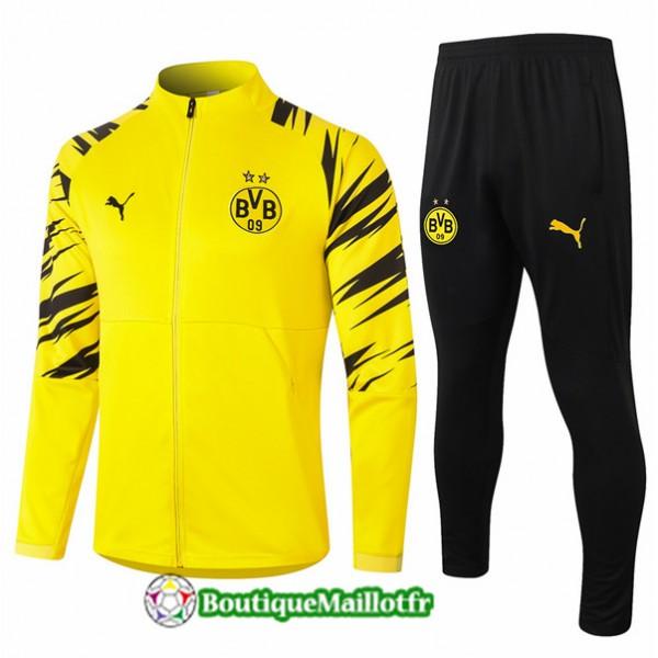 Veste Survetement Borussia Dortmund 2020 Jaune