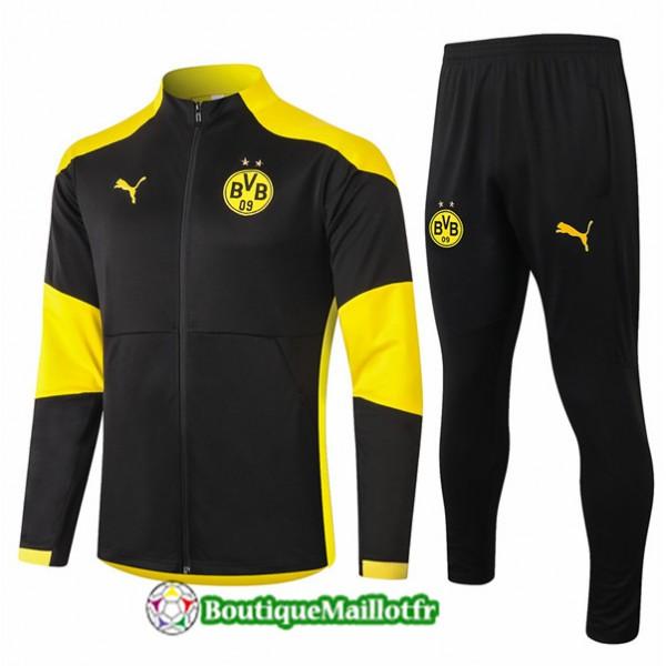 Veste Survetement Borussia Dortmund 2020 Noir