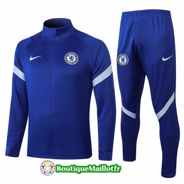 Veste Survetement Chelsea 2020 Bleu