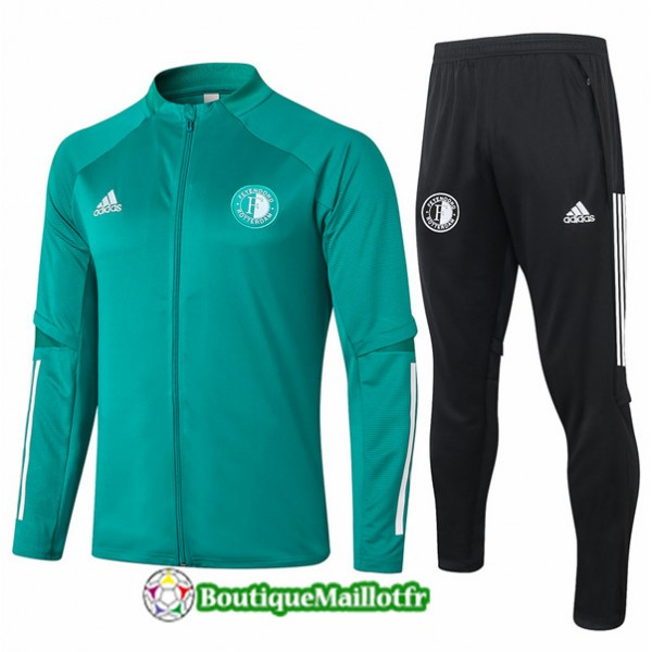 Veste Survetement Feyenoord 2020 Vert