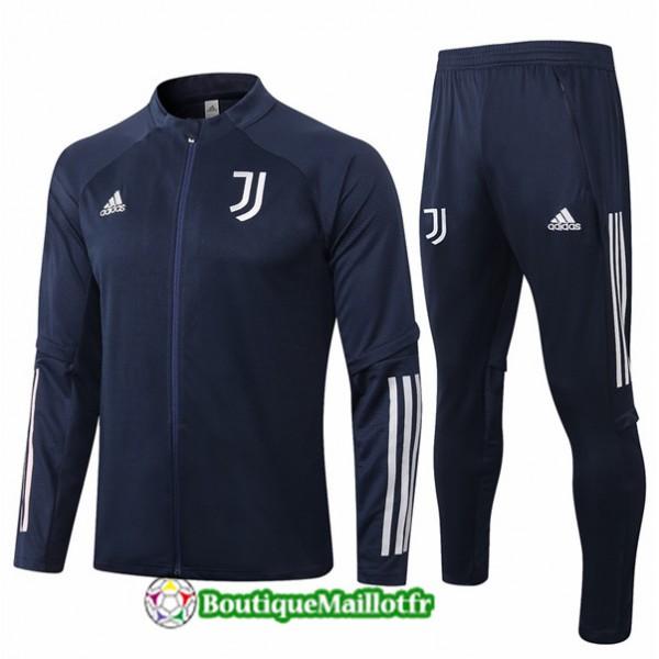 Veste Survetement Juventus Enfant 2020 Bleu Marine