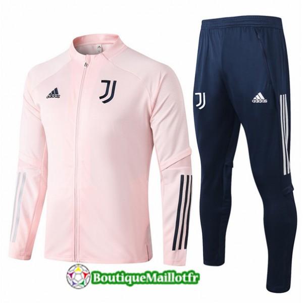 Veste Survetement Juventus Enfant 2020 Rose